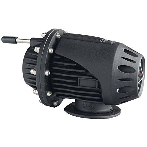 Dewhel Universal BOV SQV 4 SSQV IV Turbo Blow Off Valves JDM W/ 2.5'' Adapter Flange (Black)