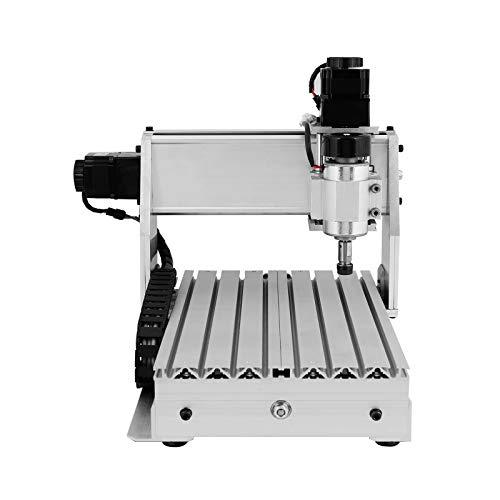 Uniqstore CNC herramienta,45 grados 0.2mm punta de carburo de titanio recubierto de PCB pedacitos del grabado herramienta CNC Router,5 pcs