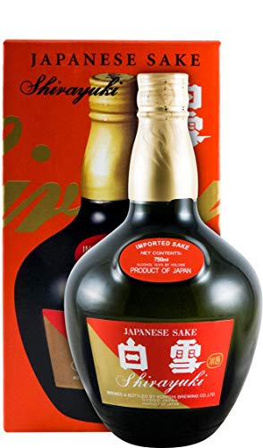 Shirayuki Japanese Sake 14,5% Vol. 0,75l in Giftbox