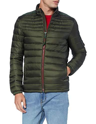 Strellson Premium Herren S.C. 4Seasons Jacke, Medium Green 312, 54