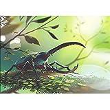 Reiichi 5d Diy Diamond Pintura Bordado Insecto Hercules Beetle Uang Stitch Costura Rhinestone Mosaic Decorar Arte De La Pared Creativa 30x45cm NoFramed