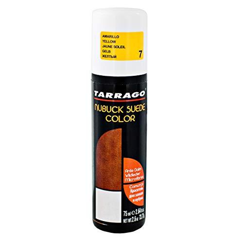 Tarrago Nubuck Suede Color Aplicador, Color para zapatos y bolsos, Amarillo (Yellow 07), 75 ml