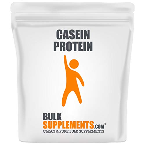 Bulksupplements.com Casein Protein Powder - Low Carb Protein Powder - Protein Supplement (1 Kilogram)