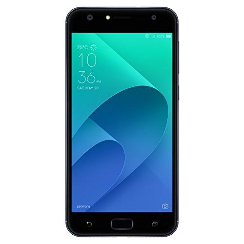Asus Zenfone 4 Selfie ZD553KL Smartphone portable débloqué 4G (Ecran: 5,5 pouces - 64 Go - Double SIM - Android) Noir