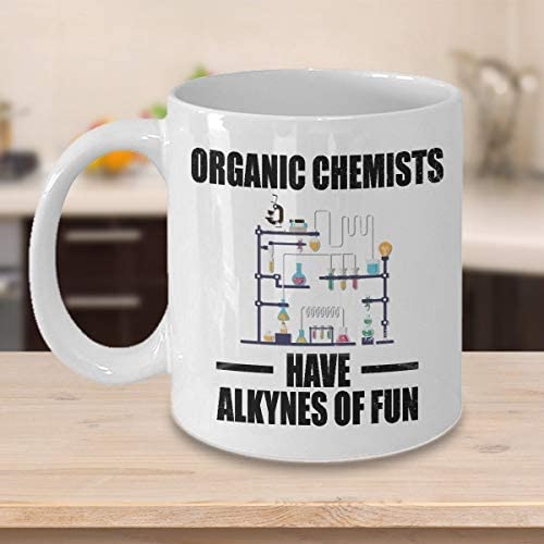 Funny Science Mug Chemistry Coffee Mug Funny Chemistry Gift Chemistry Lover Mug Organic Chemists product image