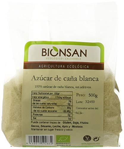 Bionsan Azúcar de Caña Ecológico Blanco - 3 Bolsas de 500 gr - Total: 1500 gr