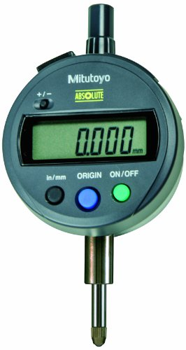 Mitutoyo 543-793CAL Absolute Digimatic Indicator with Calibration, ID-S-Type, Lug Back, #4-48 UNF Thread, 3/8