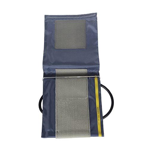 Little Doctor Oberarm Manschette für Blutdruckmessgerät Blutdruckmanschette Klettmanschette Pulsmessung Manschette (33-46cm XXL)