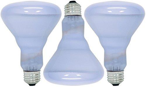 GE Lighting 48692 - 3 Pack - Reveal Br30 Reflector Light Bulb 65 W Lumens 510 Med Base