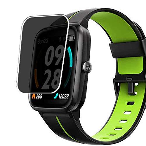 Vaxson Anti Spy Schutzfolie, kompatibel mit Mobvoi Tickasa Vibrant smart watch Smartwatch, Displayschutzfolie Privatsphäre Schützen [nicht Panzerglas]