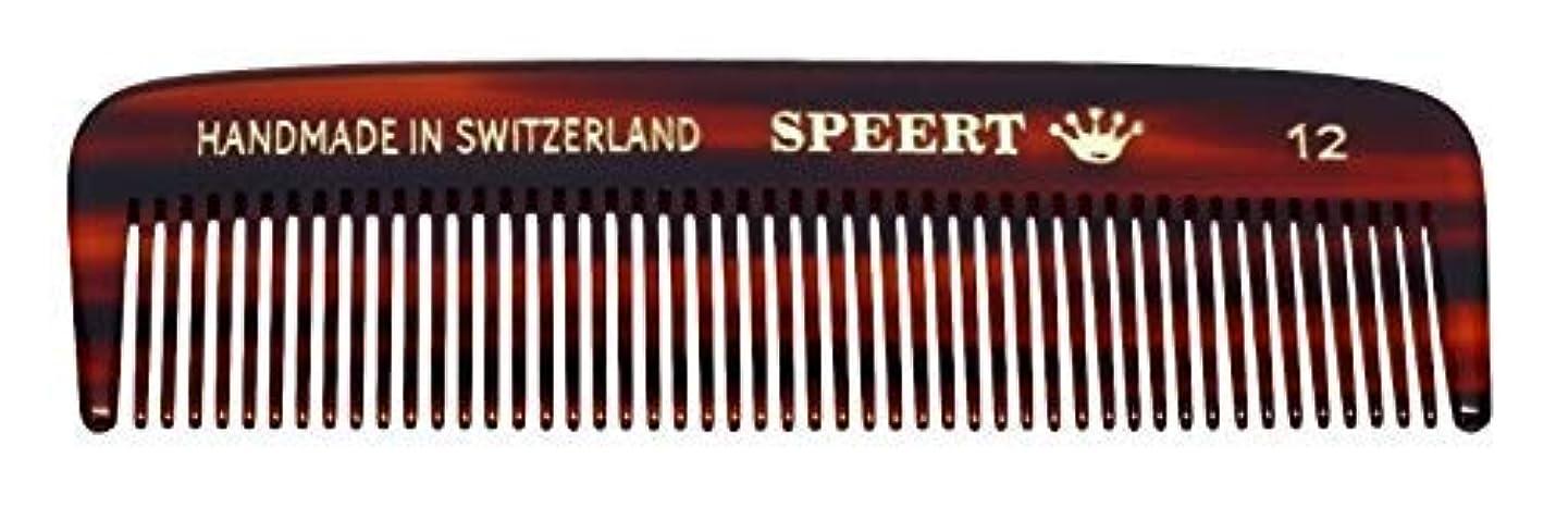 確率クレデンシャル有罪Hand-made tortoise comb #12 by Speert [並行輸入品]