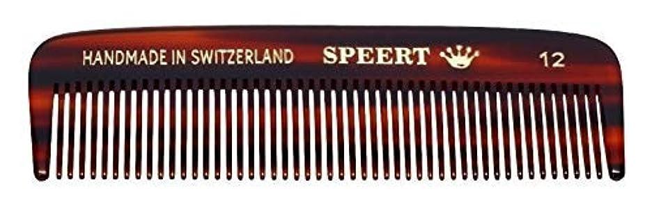 証言裁定カートンHand-made tortoise comb #12 by Speert [並行輸入品]