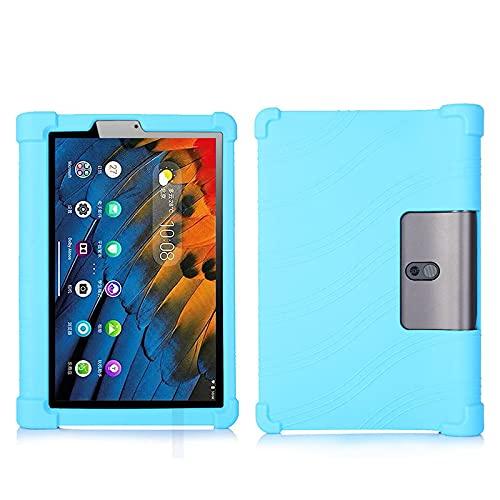 YHFZR Funda para Lenovo Yoga Tab 11 YT-J706F, Silicón Ligera Carcasa Antideslizante con Soporte para los niños para Lenovo Yoga Tab 11 YT-J706F, Azul