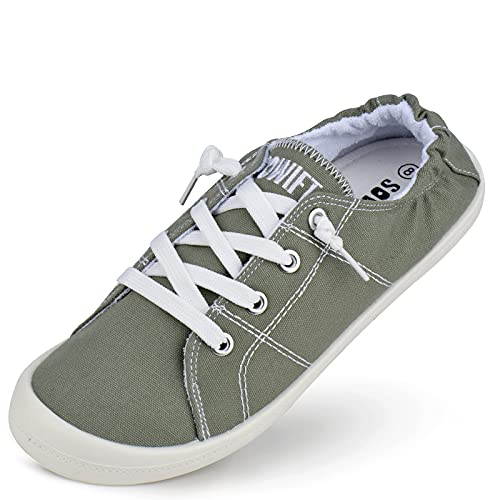 (50% OFF) Ladies Slip-On Canvas Sneakers $8.97 – Coupon Code