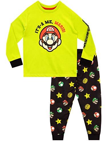 Super Mario Jungen Schlafanzug Mehrfarbig 140