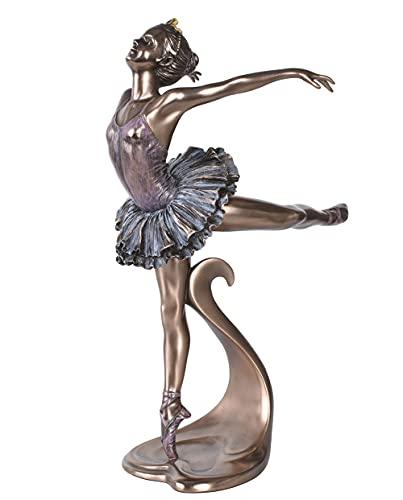 Balletttänzerin Figur Ballerina Schwanensee Primaballerina Skulptur wu73467a4 Palazzo Exklusiv