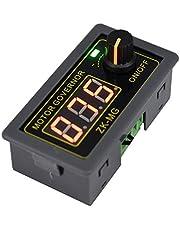 PPITVEQ Controlador DC 5V 12V 24V 150W velocidad del motor de PWM ajustable con regulador de velocidad sin escalonamiento del conmutador rotatorio variable del generador de señal PWM módulo controlado