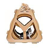 BYJIN Kratzspielzeug Haustiere Wasserrad Riesenrad Wellpappe