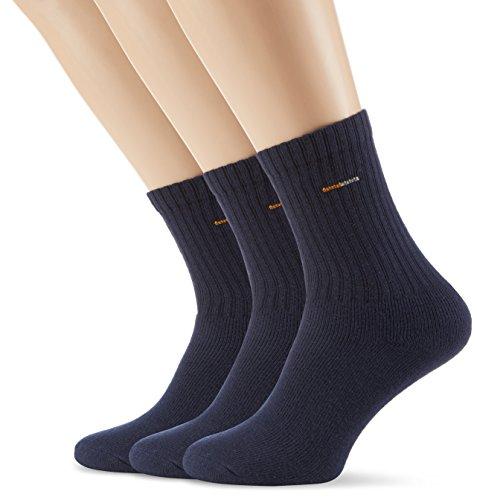 Camano 5943, Calcetines deportivos para hombre, pack de 3, 43/46, Azul (navy 4)