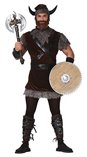 FIESTAS GUIRCA Disfraz de Vikingo Hombre Adulto Talla M 48-50