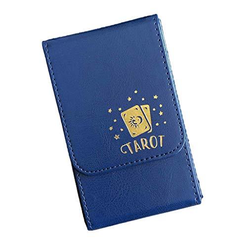 BELTI Kapazität Karte Karten Box PU Leder Karte Fall Container Brettspiel Kartenhülle