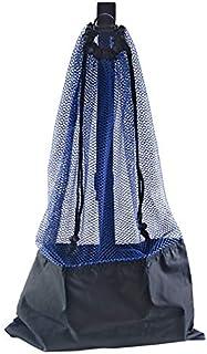ScubaMax BG-632 Mesh Bag Draw String w/Shoulder Strap - Blue
