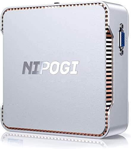 NiPoGi -   Mini Pc, 8Gb Ram