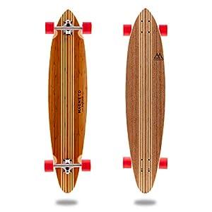 Hana Longboard Collection | 42 inch Longboard Skateboard | Cruising, Carving(Pintail)