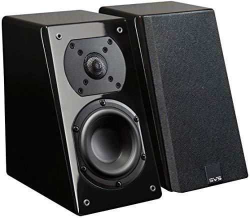 SVS Prime Elevation Speakers - Pair (Black Piano Gloss)