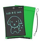 Newyes 8,5' Tableta gráfica | Tableta de Escritura LCD | Tablet para niños | Ideal como Pizarra Digital para Aprender a Leer, Escribir y para Manualidades | Juguete Educativo (Verde)