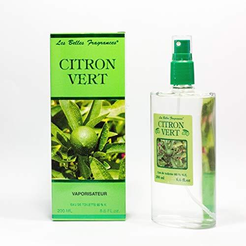 Eau de toilette Citron Vert - Prestige de Menton, Artisan Parfumeur (200ml)