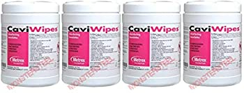 CaviWipes - Cavicide Germacidal Cleaner Wipes 160 ct  Fоur Paсk