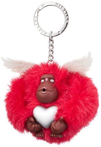 KiplingCupid MonkeyDonnaPortachiavi ad anello e catenaRosso (Rapid Red)8.5x7x5 Centimeters (B x H x T)