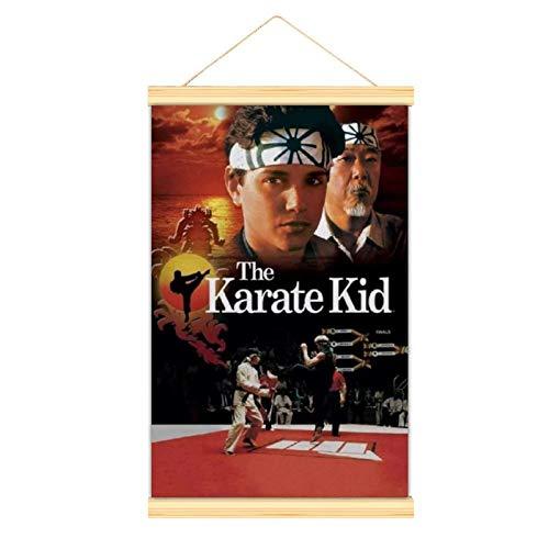 WPQL Póster de Karate Kid Film Poster1 Póster decorativo Pintura decorativa carteles decorativos sala de estar, estudio, bar gimnasio 30 x 45 cm