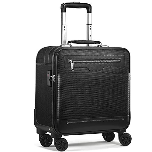 LXX Roller Bag Designed for Business Professional Travel and Commuter Briefcase fit up to 15.6-Inch (Color : B, Size : 39 * 20 * 46CM)