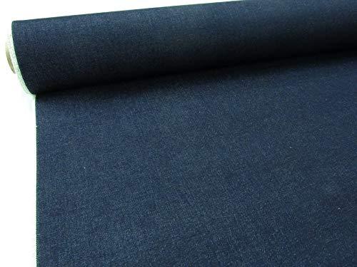 Confección Saymi Metraje 0,50 MTS. Tela Vaquero Tejano Color Marino Oscuro, sin Lavar, 100% algodón con Ancho 1,60 MTS.