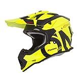 Oneal 2SRS R Helmet Slick Casco, Unisex - Adulto, Giallo fluorescente, L