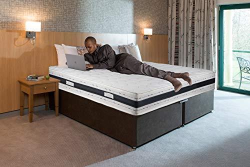 Sleepers | Colchón 140 x 190 | Grosor 20 cm | Ergonómico | Soporte firme | Ortopédico | Sistema de ventilación 3D | Comodidad superior