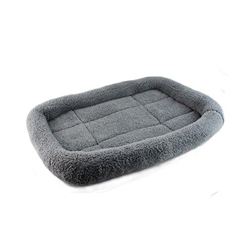 PETCUTE Cama para Perros Reforzada Almohadas para Camas para Perros Cojín Almohada para Jaula Lavable Colchón Mascotas