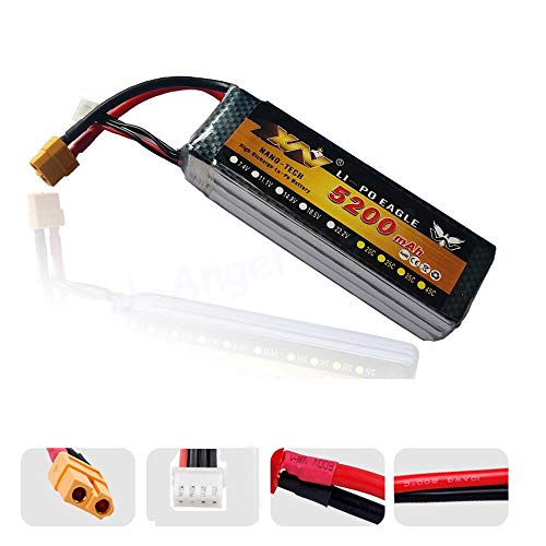Buy Discount Part & Accessories 1pcs YW 11.1V 5200MAH 30C 3S 4S MAX 35C AKKU LiPo RC Battery For Rc ...