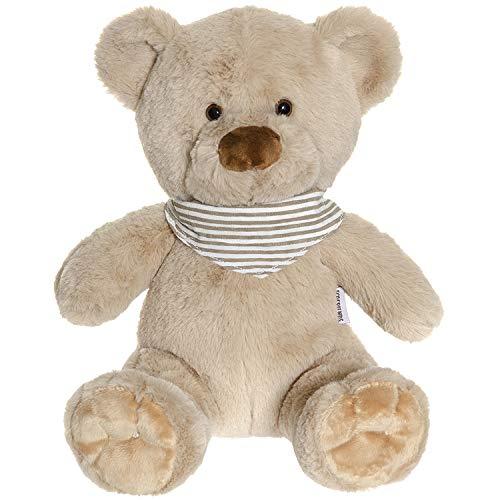 """Teddykompaniet 2896 Teddybär """"Malte"""" beige 35 cm – Plüschtier Kuscheltier für Babys - Stofftier Eco-Friendly - super Soft Oeko-Tex - ab Geburt"""