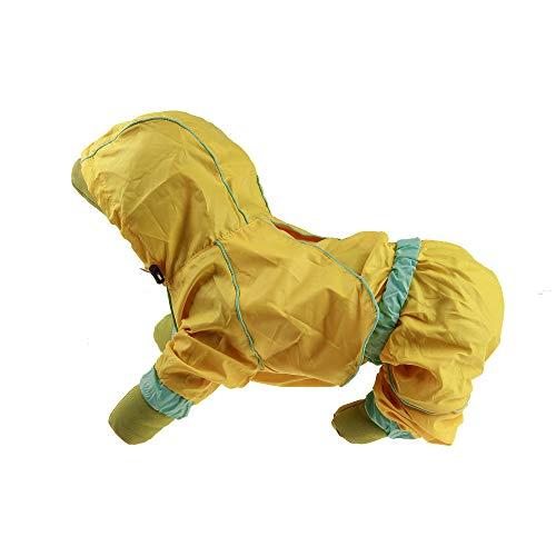 CWYPWDY Huisdier Kleding Huisdier Hond Regenjas Waterdichte Hooded Kleding Voor Kleine Honden