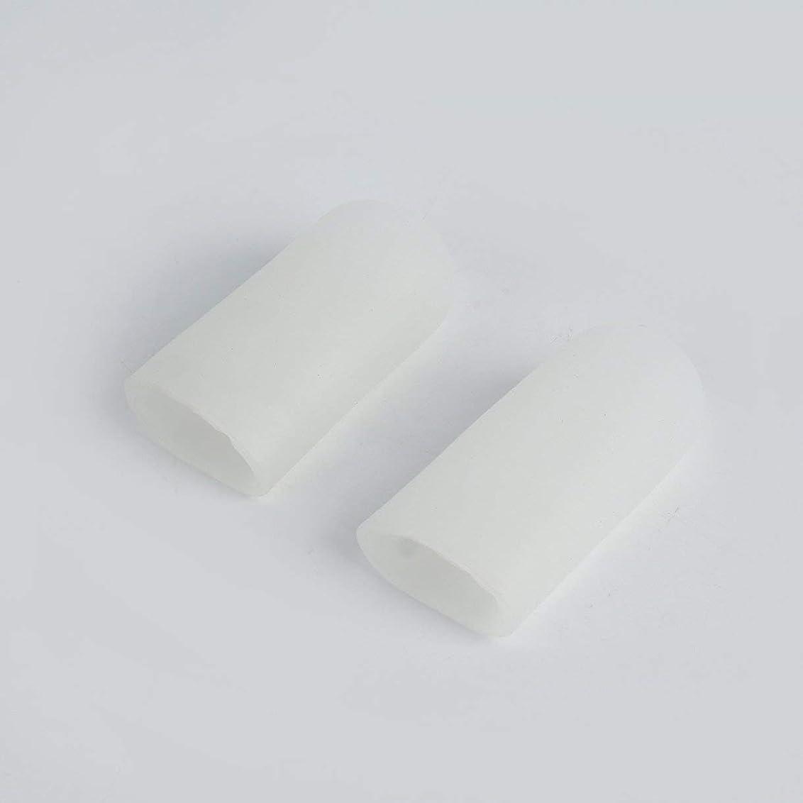正気緊張パイルOpen Toe Tubes Gel Lined Fabric Sleeve Protectors To Prevent Corns, Calluses And Blisters While Softening And Soothing Skin