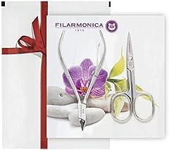 Filarmonica, Pack Tijera de Uñas y Alicate de Cutículas