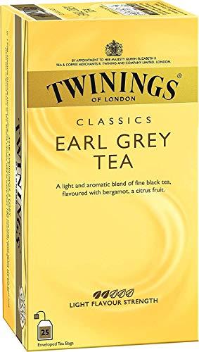 Twinings Té Earl Grey 25 uds