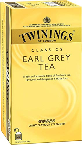 Twinings - Te Earl grey 25 S