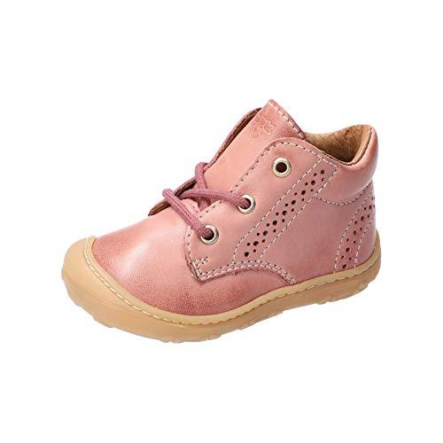 RICOSTA Mädchen Lauflern Schuhe Kelly von Pepino, Weite: Mittel (WMS), Freizeit schnürschuh schnürstiefelchen flexibel leicht,Rose,20 EU / 4 Child UK