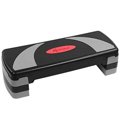 ZRK Step para Fitness, 3 Alturas Ajustables, Adecuado para Uso doméstico y de Oficina