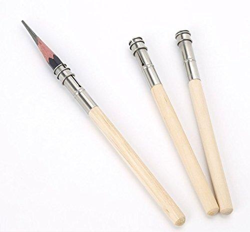 Fliyeong 5 stücke Einstellbare Stifthalter Extender Werkzeug Stiftverlängerung Kinder Bleistift Stift Extender Verlängerung Halter Student Bleistiftverlängerung Geeignet