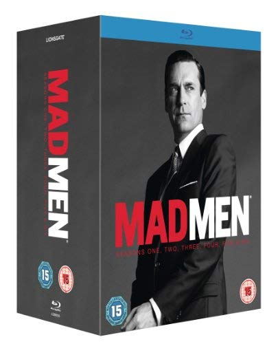 Mad Men: Seasons 1-6 [Blu-ray] [Import]